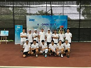 KNAUF VIETNAM SUCCESSFULLY ORGANIZED THE K-OPEN 2017