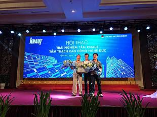 Knauf Vietnam's Installer conferences in September
